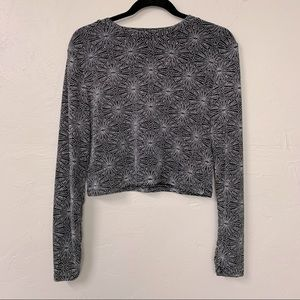 Divided by H&M Sparkly long sleeve blouse sz L